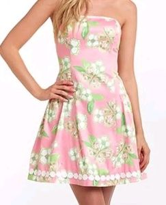 Lilly Pulitzer Pretty Pink Tootie Dress Sz 00